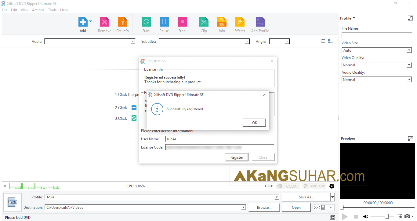 Free download software Xilisoft DVD Ripper Ultimate 7 final full version terbaru gratis serial number patch keygen crack license key activation code latest version for windows www.akangsuhar.com