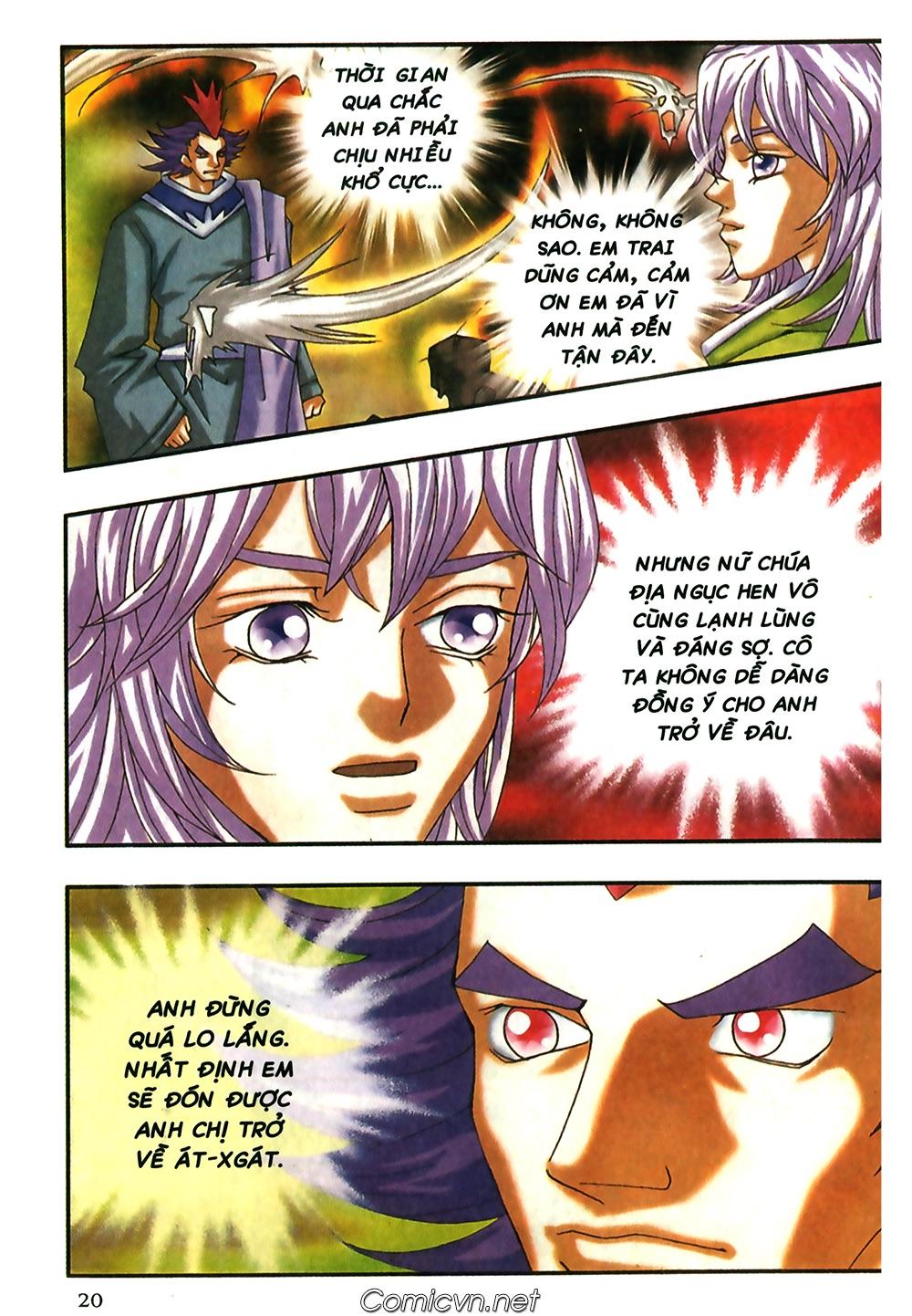 Thần thoại Bắc Âu - Chapter 46: Thần Dũng Cảm - Pic 21
