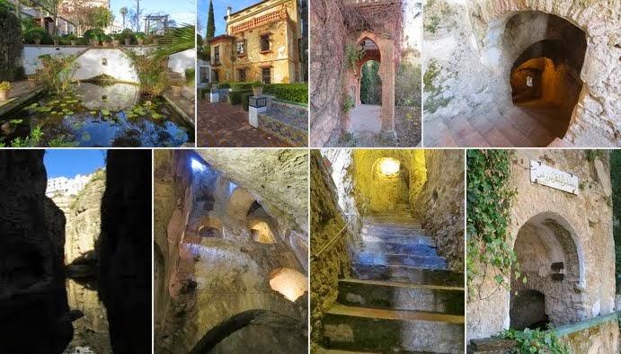 Water Mine at La Casa del Rey Moro in Ronda, Spain