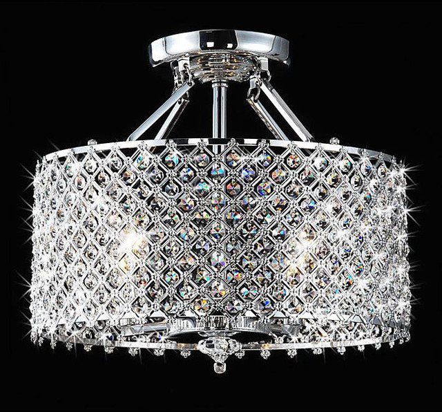 modern crystal chandelier contemporary