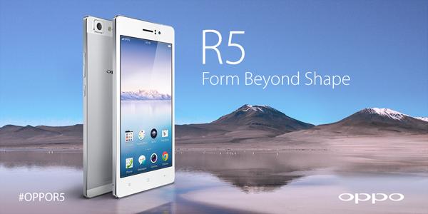 Spesifikasi Oppo R5 Tertipis di Dunia