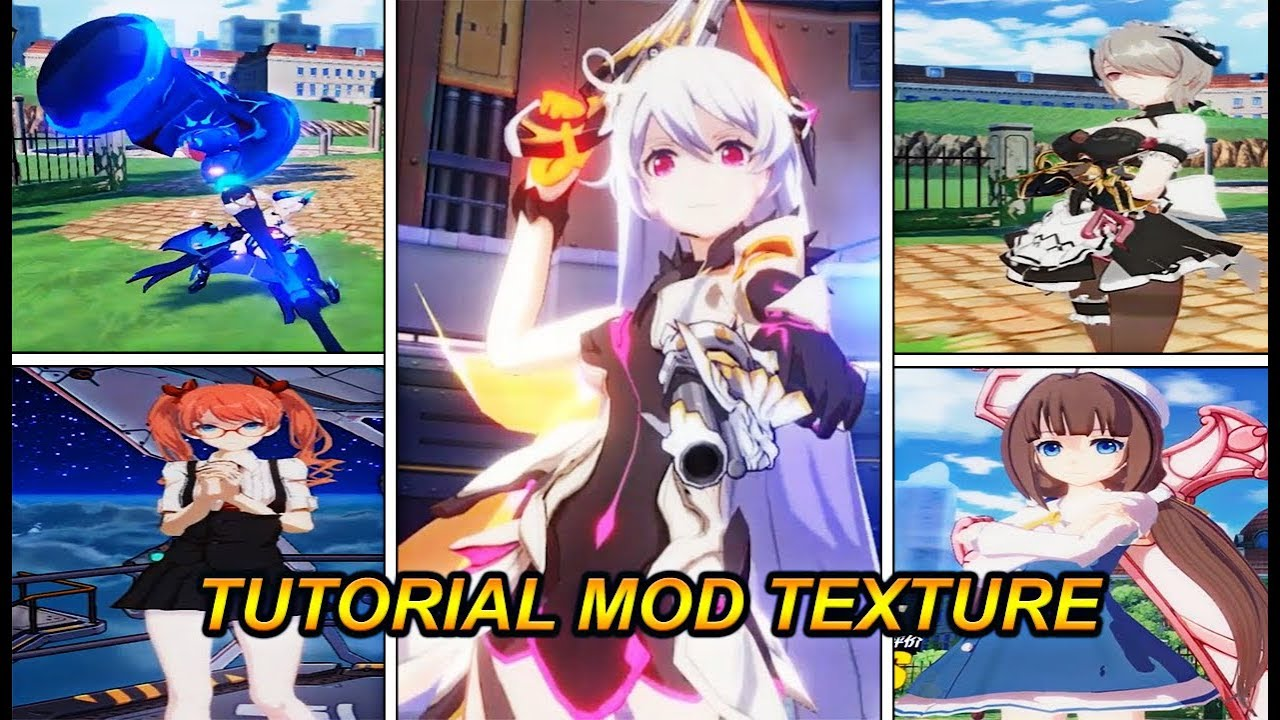 How to Mod Texture Honkai Impact [Tutorial] - Whize Rezhaenk
