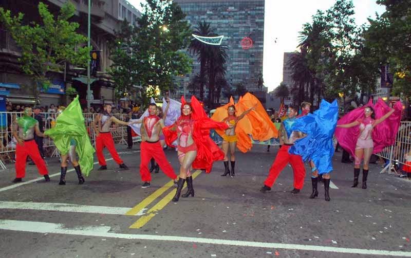 Desfile Inaugural del Carnaval. 2015. Madame Gótica.
