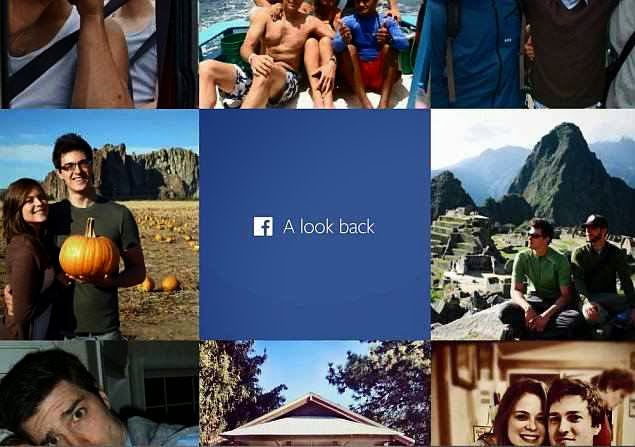 Facebook launched Look Back 2014
