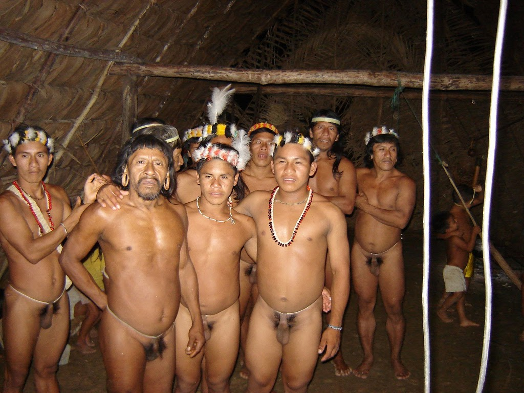 Naked amazon tribes