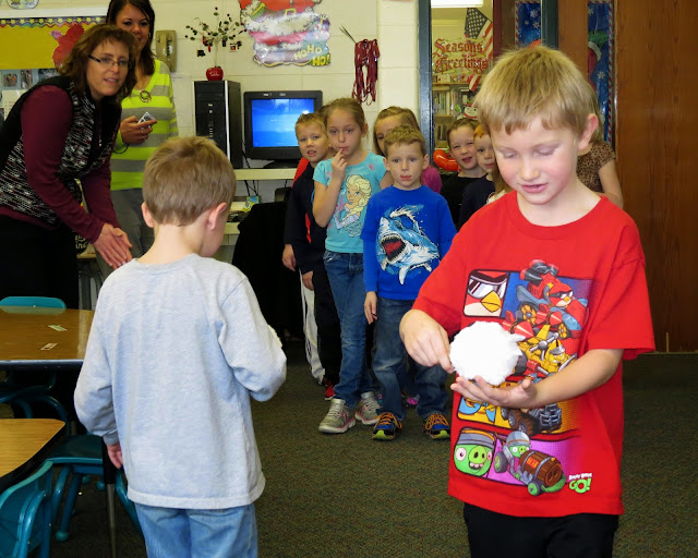 snowball relay race game