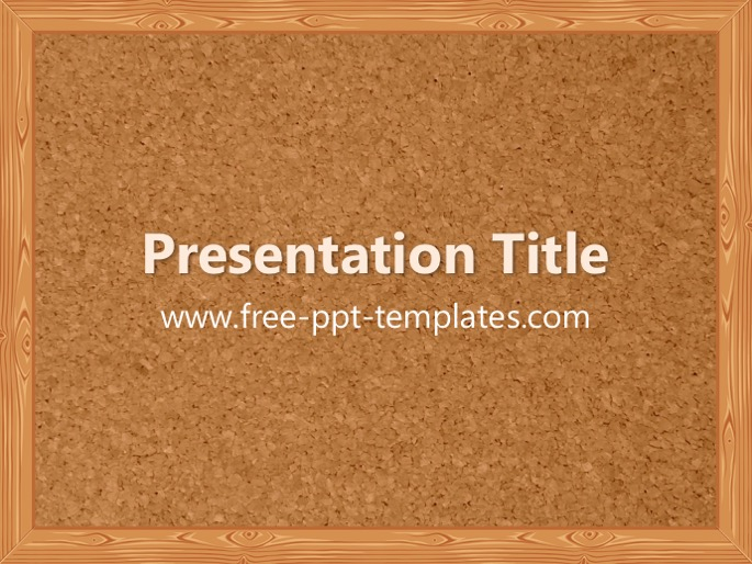 Bulletin board ppt template pronofoot35fo Choice Image