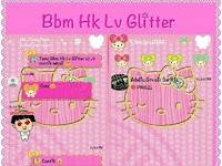 BBM Mod Themes HK GLITER V2.9 Apk