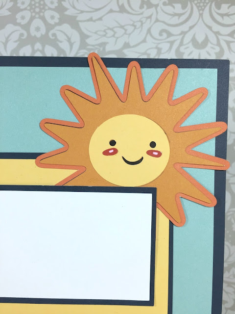 Cricut Summer Fun layout