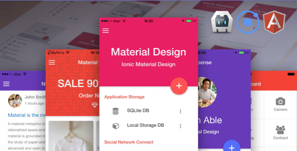 Nulled] Ionic Material Design v4 2
