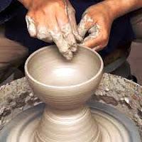 Contoh Teknik Membentuk sebagai penjelasan dari pengertian seni kriya