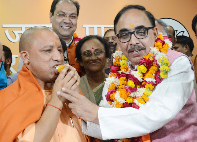 UP elections in UP, lotus, Modi and Yogi keep alive magic, happy atmosphere across the country