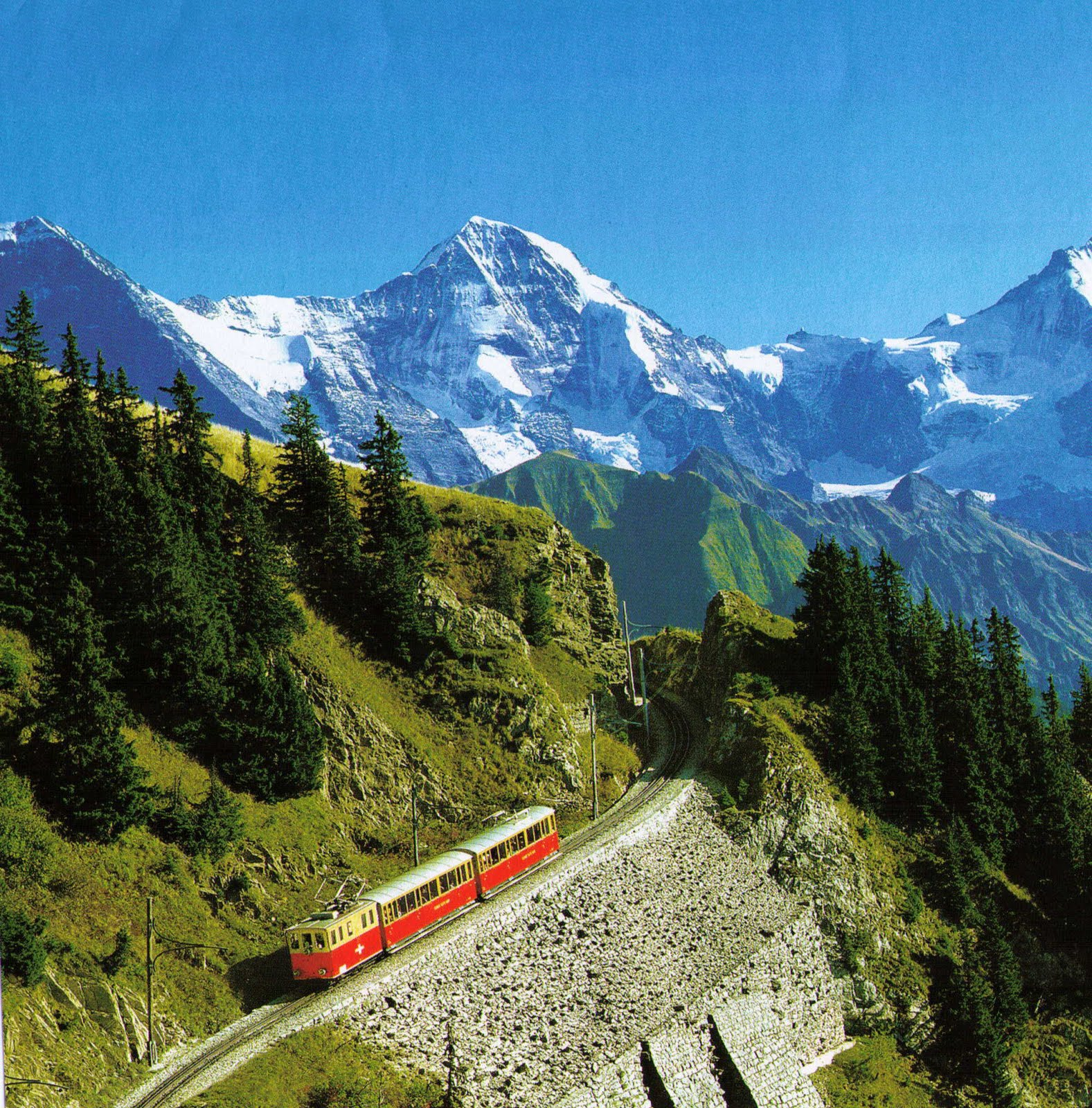 Transpress Nz: Travel By Rail In Switzerland And Europe