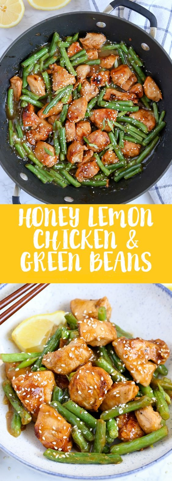 Honey Lemon Chicken and Green Beans  #masonjar #healthy #recipes #greatist #vegetarian #breakfast #brunch  #legumes #chicken #casseroles #tortilla #homemade #popularrcipes #poultry #delicious #pastafoodrecipes  #Easy #Spices #ChopSuey #Soup #Classic #gingerbread #ginger #cake #classic #baking #dessert #recipes #christmas #dessertrecipes #Vegetarian #Food #Fish #Dessert #Lunch #Dinner #SnackRecipes #BeefRecipes #DrinkRecipes #CookbookRecipesEasy #HealthyRecipes #AllRecipes #ChickenRecipes #CookiesRecipes