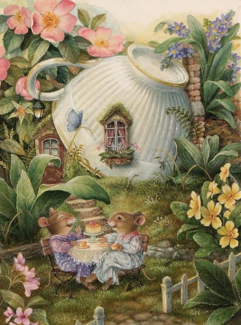 fairy tale tea party
