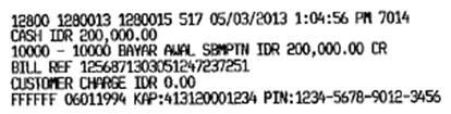 sanggup membayar biaya registrasi melalui counter teller di seluruh cabang Bank Mandiri Cara Pembayaran Biaya Pendaftaran SBMPTN Melalui Kantor Cabang Bank Mandiri