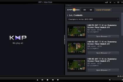 KMPlayer Terbaru v4.2.2.7 Final Offline Installer