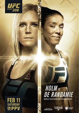predictions for UFC 208 pay-per-view Holm vs de Randamie