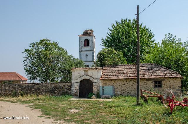 Holy Salvation (Св. Спас) church in village Graeshnica, Bitola Municipality, Macedonia