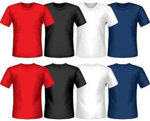 camisetas vetorizadas