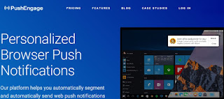 PushEngage, notificaciones web personalizadas