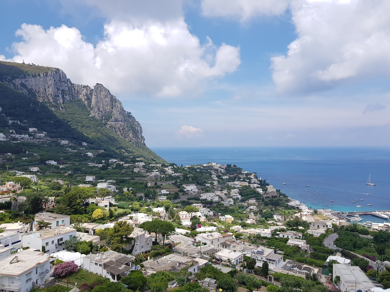 italy capri ferry sorrento cliffs visit tourist sightseeing