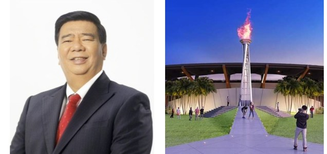 "Senator Drilon questions the cost of SEA Games cauldrion: ""We did away with 50 classrooms in exchange for one kaldero?"" 