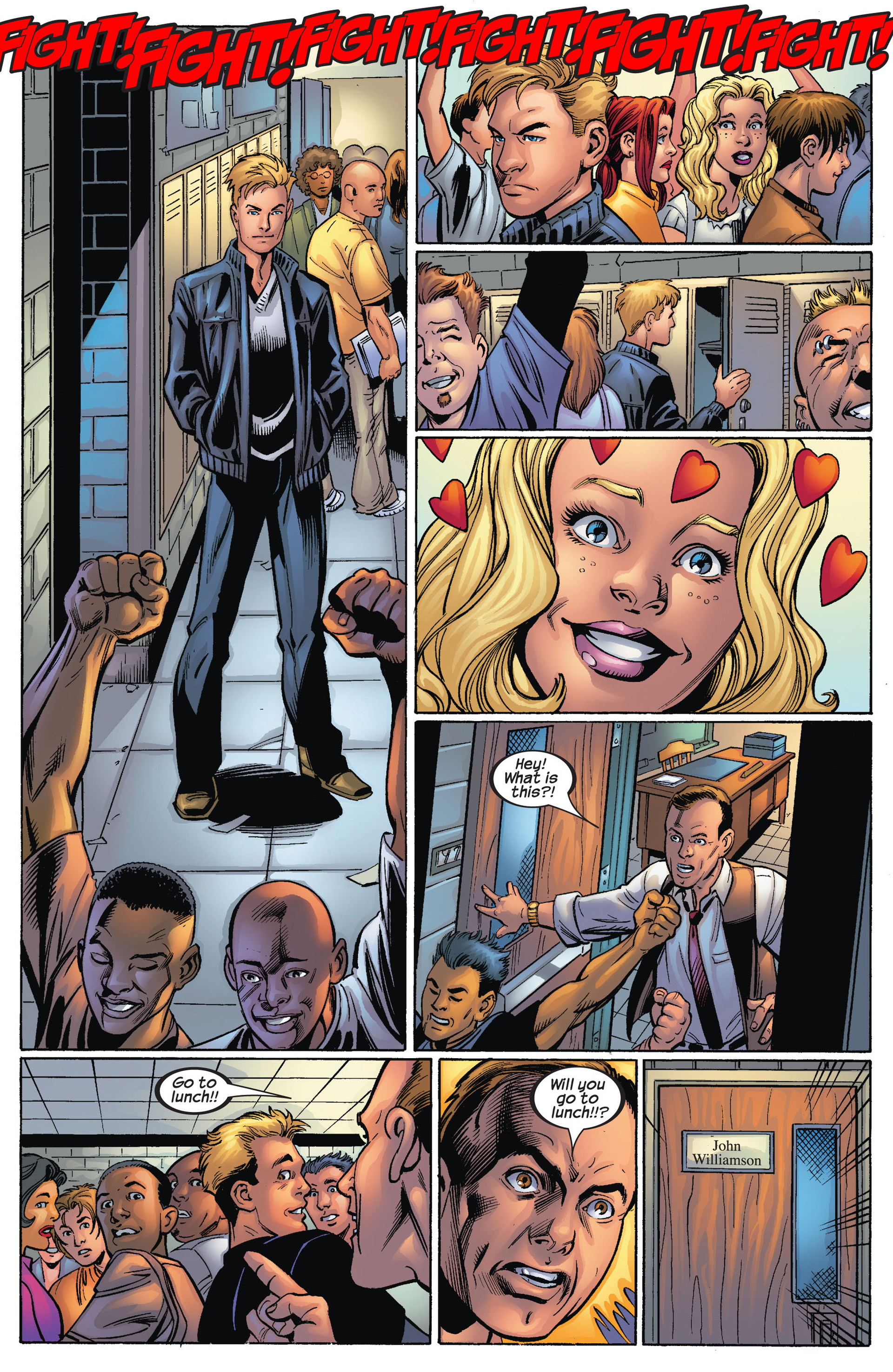 Read online Ultimate Spider-Man (2000) comic -  Issue #68 - 7