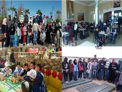 رحلة مدرسية لفائدة المتفوقين الأوائل باتجاه مدينة مراكش ونواحيها