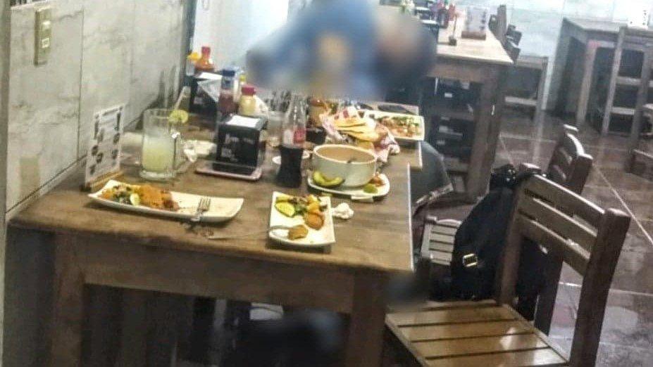 Tres muertos deja ataque armado a restaurante en Cuitzeo Michoacan