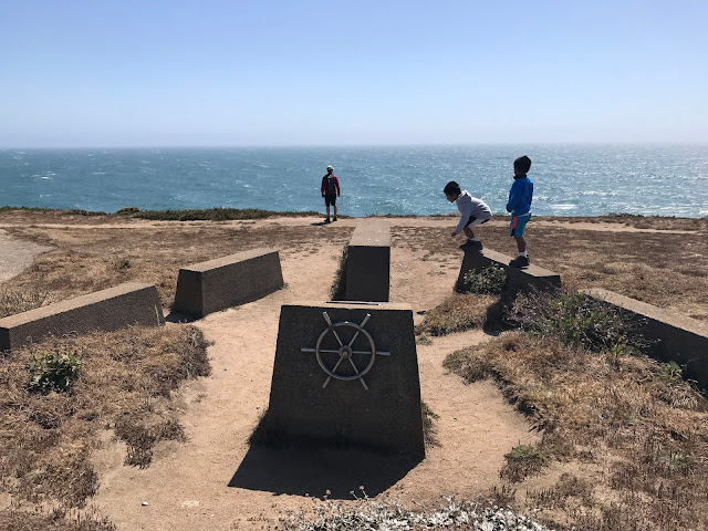 Memorial at Bodega Bay Trail hike