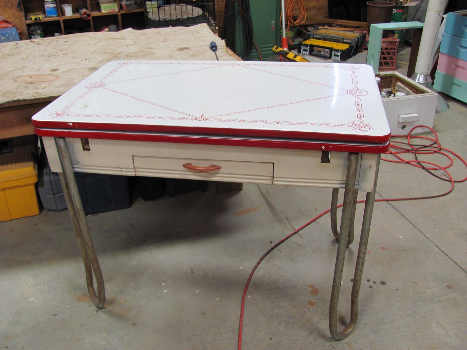Thomas Nelson Furniture Restoration: Antique Retro Enamel ...