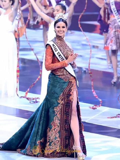 Miss Universe 2018 Catriona Gray Cinta dan Bahagia Berada di Indonesia