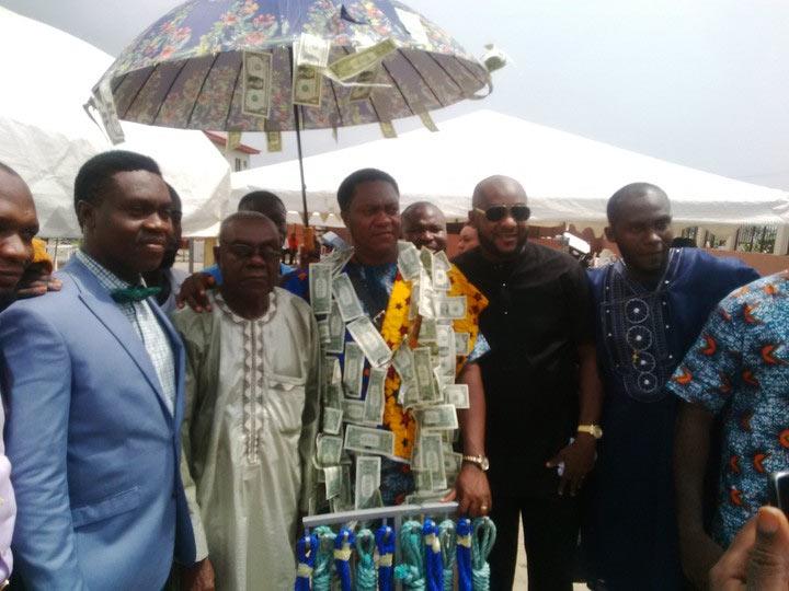 As seen in a Lagos church today...