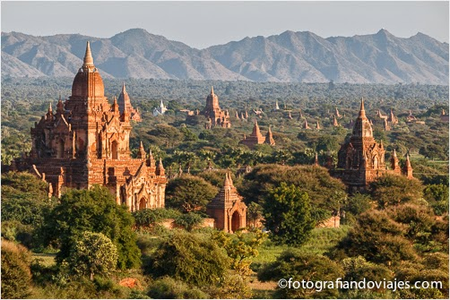 Templos de Bagan en Myanmar