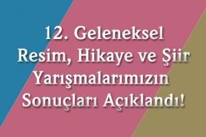 12.Ümraniye Belediyesi Geleneksel Resim, Hikâye ve Şiir yarışmalarının sonuçları 2016