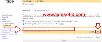 Cara Daftar Domain ke Yandex Webmaster 4