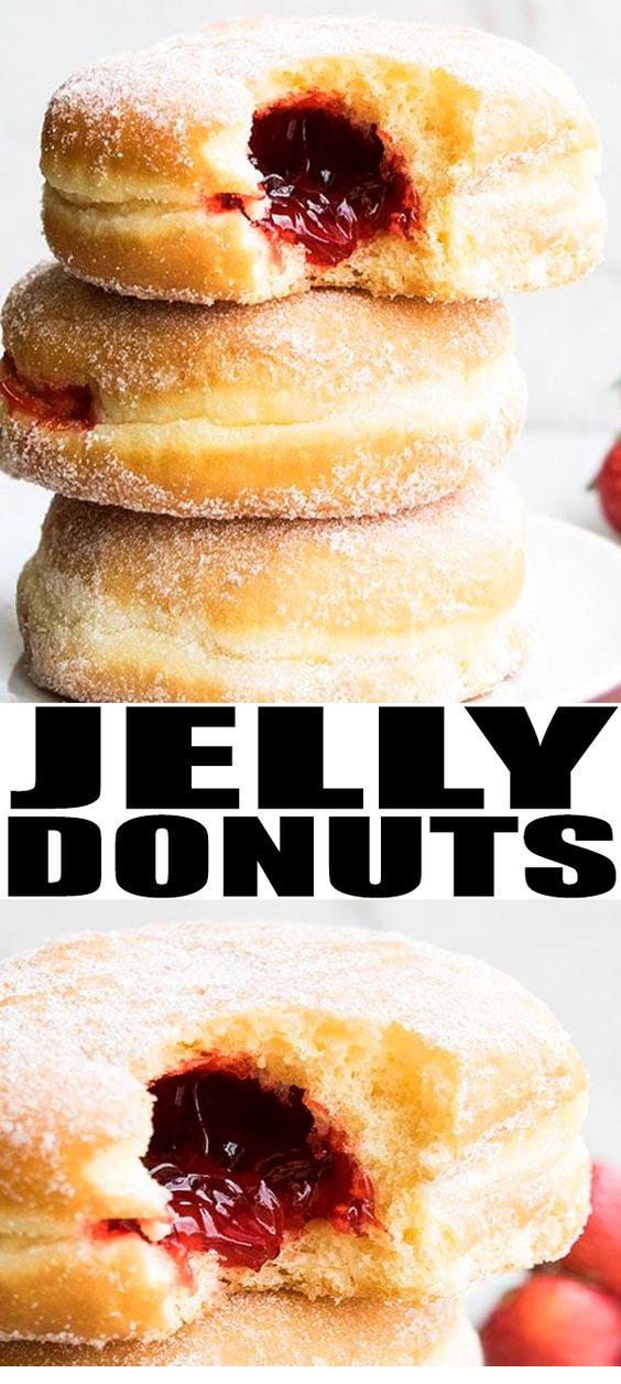 Easy Jelly Doughnuts