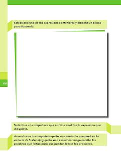 Apoyo Primaria Español 1er grado Bimestre 4 lección 2 ¿Qué significan?