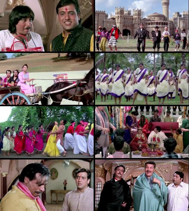 Raja Babu 1994 Hindi 480p HDRip 400mb