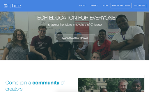 @rtifice Website Revamp