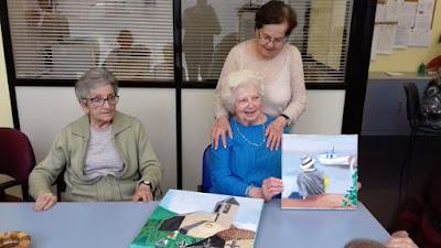 Marta Samper, usuària d'Aviparc, ens presenta les seves pintures