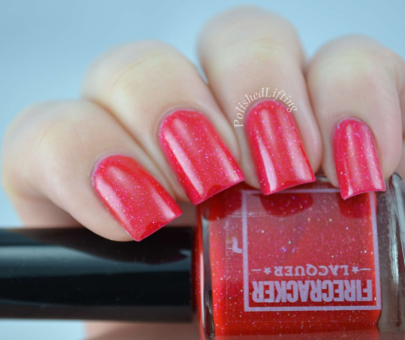 Firecracker Lacquer Kiss Me Under the Mistletoe