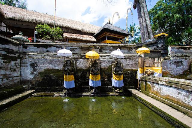 Tempio Goa Gajah e grotta dell'elefante-Bali
