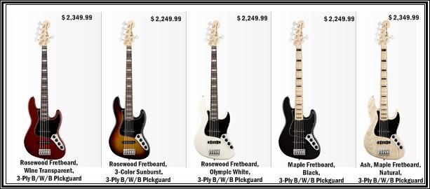 guitars blog fender american deluxe v string jazz bass guitar. Black Bedroom Furniture Sets. Home Design Ideas
