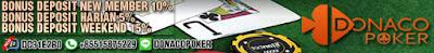 donacopoker game kartu online terpercaya