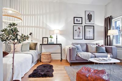 Tips Ringan Mendesain Apartemen Type Studio