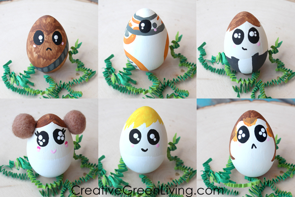 Best Star Wars craft - how to make star wars easter eggs