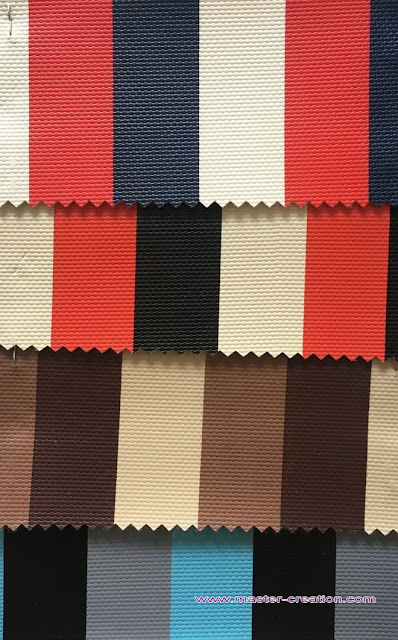 nylon texture striped leather
