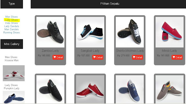 Produk Ardiles Kategori Lady Shoes